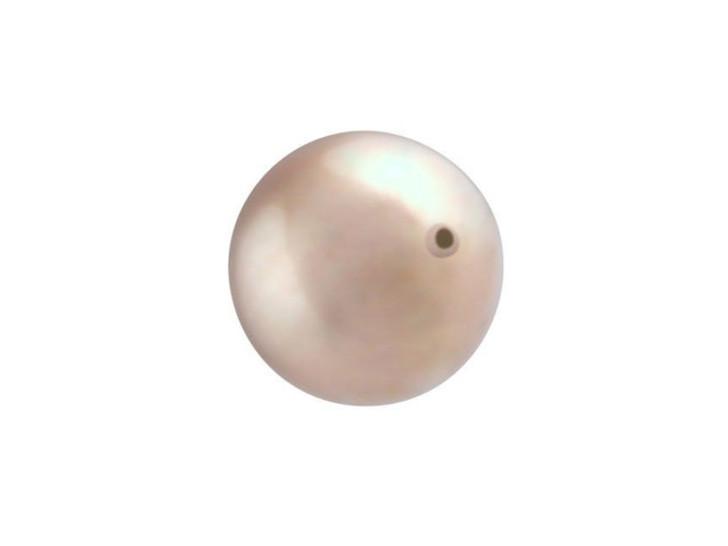 Swarovski 5810 12mm Round Crystal Pearl Powder Almond