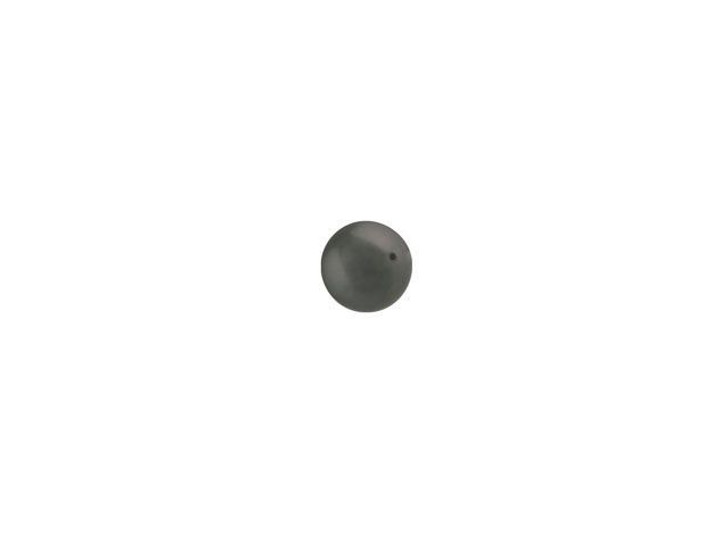 Swarovski 5810 3mm Round Crystal Pearl Dark Grey