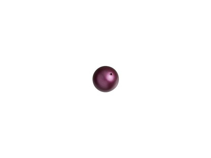Swarovski 5810 3mm Round Pearl Elderberry