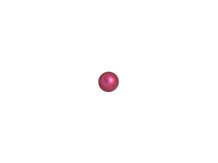 Swarovski 5810 3mm Round Pearl Mulberry Pink