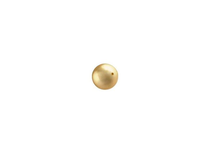 Swarovski 5810 4mm Crystal Pearl Bright Gold