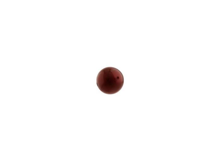 Swarovski 5810 4mm Round Crystal Pearl Bordeaux