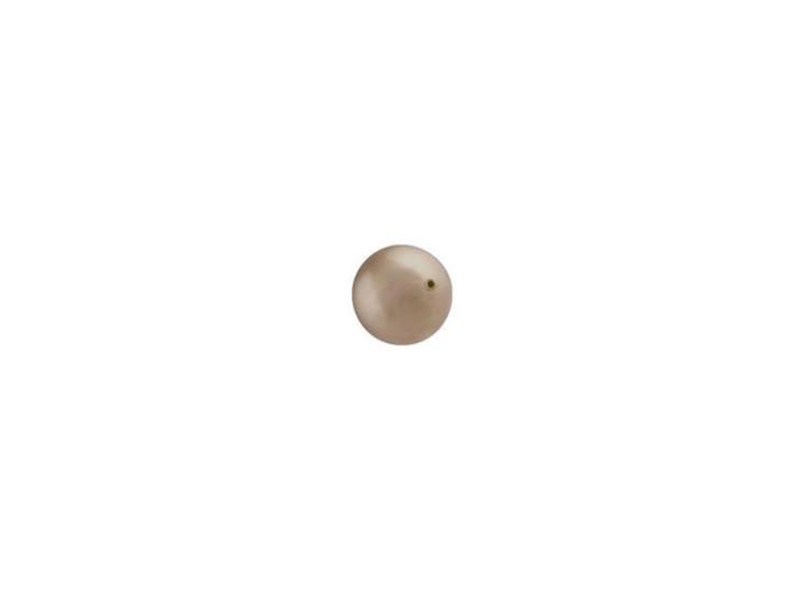 Swarovski 5810 4mm Round Crystal Pearl Bronze