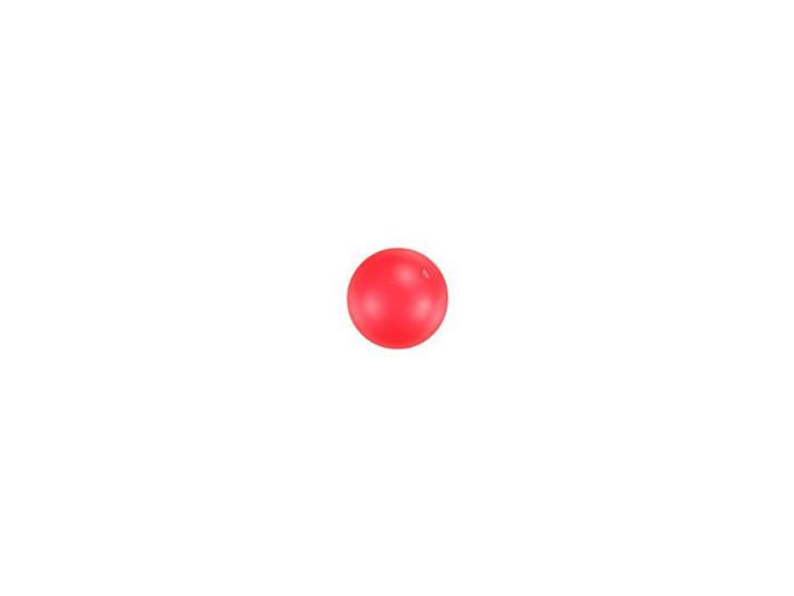 Swarovski 5810 4mm Round Crystal Pearl Neon Red