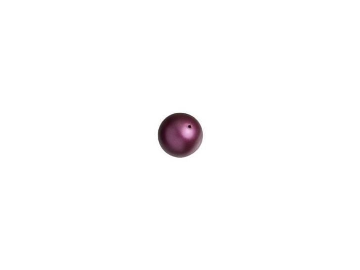 Swarovski 5810 4mm Round Pearl Elderberry