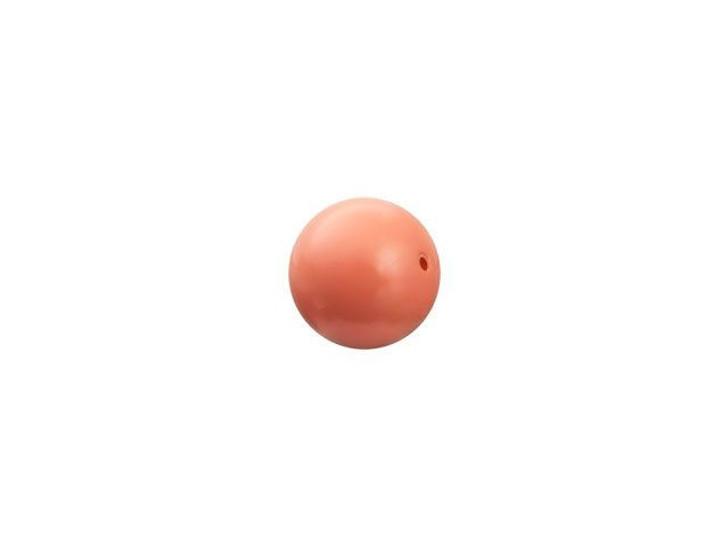Swarovski 5810 5mm Round Crystal Pearl Coral