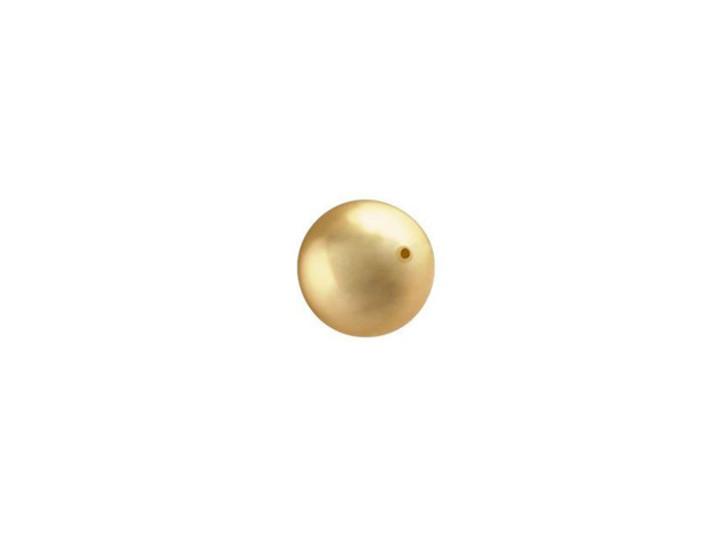 Swarovski 5810 6mm Crystal Pearl Bright Gold