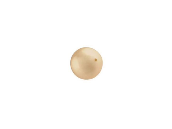Swarovski 5810 6mm Crystal Pearl Gold