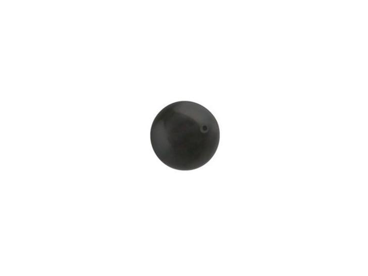 Swarovski 5810 6mm Round Crystal Pearl Black