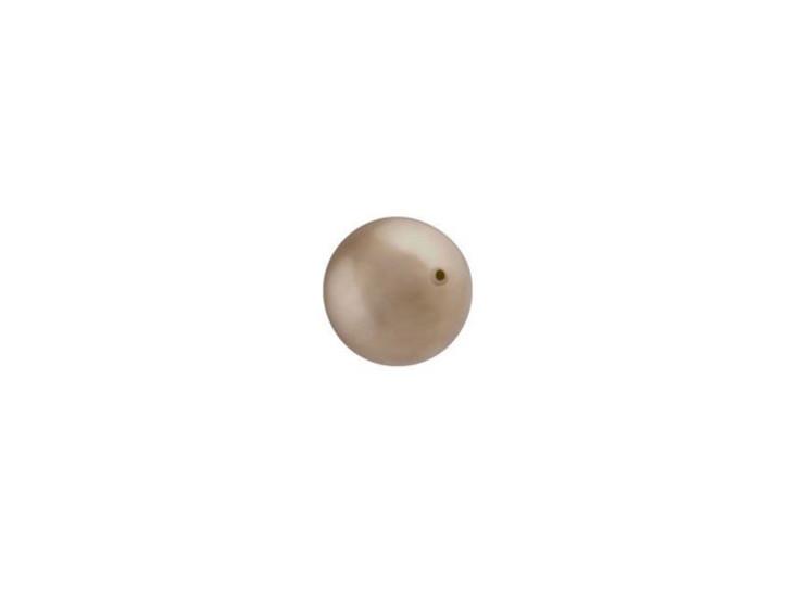 Swarovski 5810 6mm Round Crystal Pearl Bronze