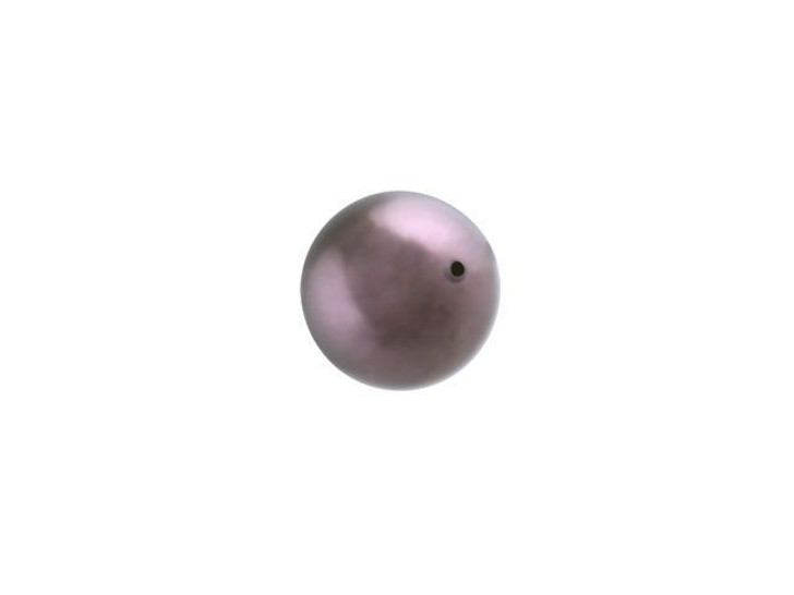 Swarovski 5810 6mm Round Crystal Pearl Burgundy