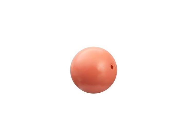 Swarovski 5810 6mm Round Crystal Pearl Coral