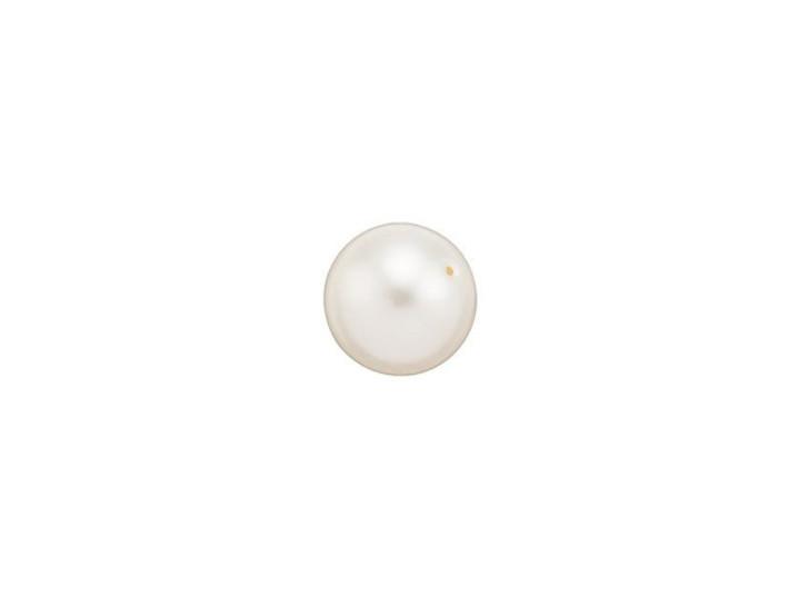 Swarovski 5810 6mm Round Crystal Pearl Light Creamrose