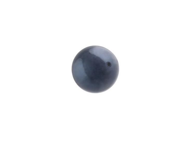 Swarovski 5810 6mm Round Crystal Pearl Night Blue