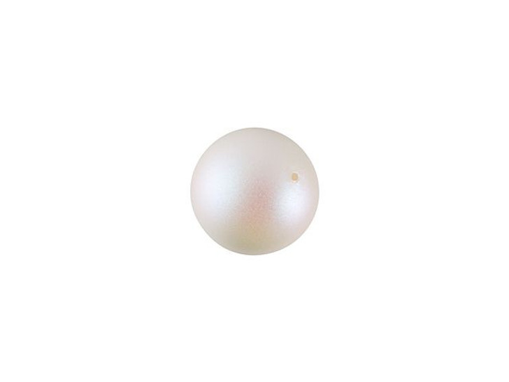 Swarovski 5810 6mm Round Crystal Pearlescent White Pearl