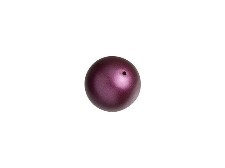 Swarovski 5810 6mm Round Pearl Elderberry