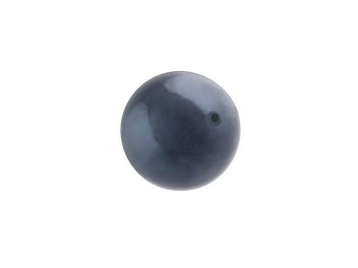 Swarovski 5810 8mm Round Crystal Pearl Night Blue