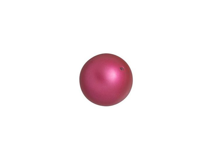 Swarovski 5810 8mm Round Pearl Mulberry Pink