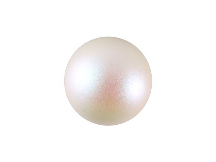 Swarovski 5818 10mm Half-Drilled Crystal Pearlescent White Pearl