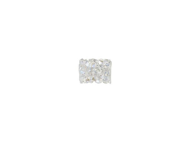 Swarovski 5951 8mm Crystal Moonlight Fine Rocks Tube Bead without Ending