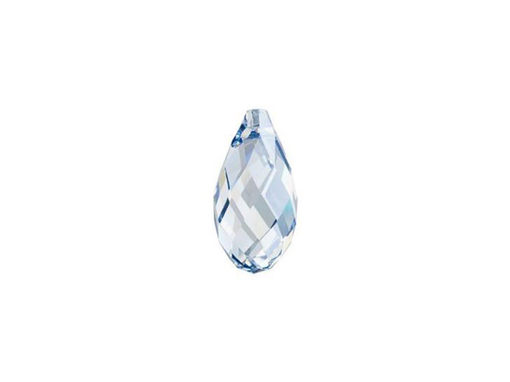 Swarovski 6010 13x6.5mm Briolette Pendant Crystal Blue Shade