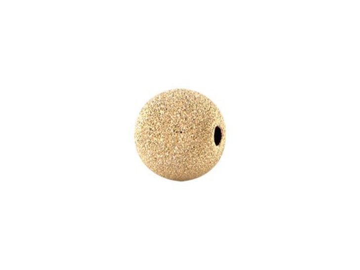 4mm Gold-Filled Round Stardust Bead