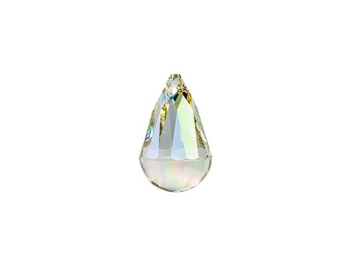 Swarovski 6026 13mm Cabochette Pendant Crystal Luminous Green