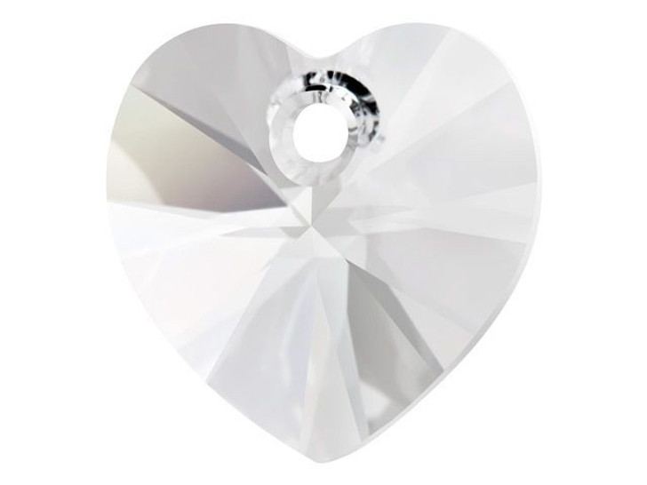 Swarovski 6228 40mm XILION Heart Pendant Crystal