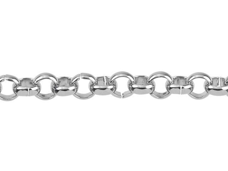 4mm Stainless Steel Rolo Chain by the Foot