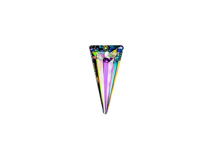 Swarovski 6480 18mm Spike Pendant Crystal Vitrail Medium with Protective Coating