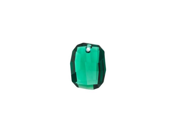 Swarovski 6685 19mm Graphic Pendant Emerald