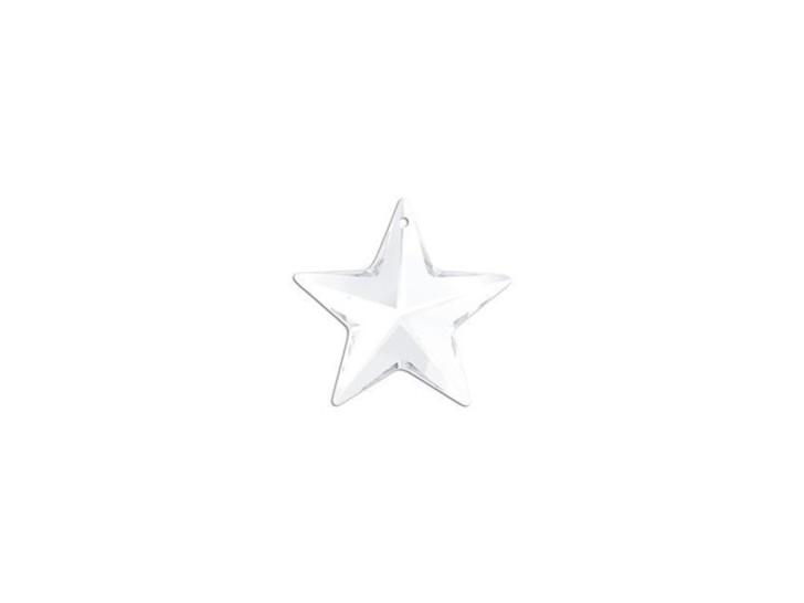 Swarovski 6714 20mm Star Pendant Crystal
