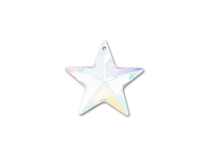 Swarovski 6714 28mm Star Pendant Crystal AB