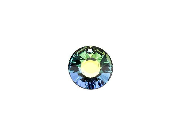 Swarovski 6724 12mm Sun Pendant Crystal Sahara