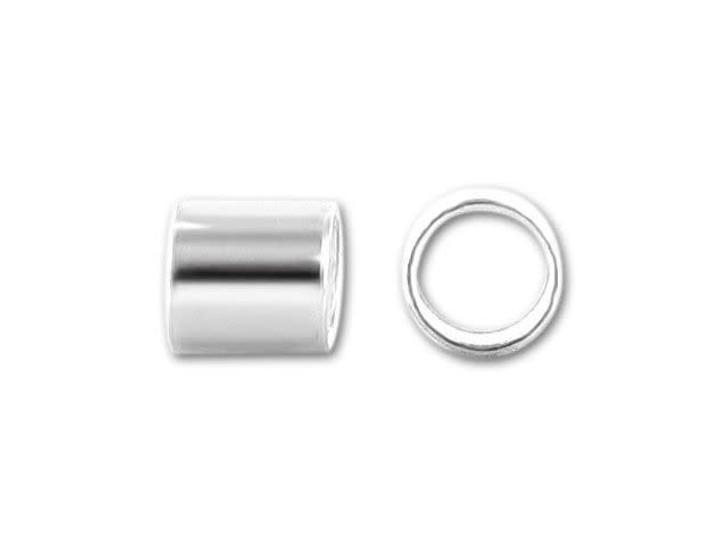 4x4mm Sterling Silver Crimp Tube