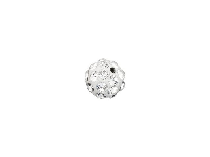 Swarovski 86001 4mm Pave Ball Bead Crystal