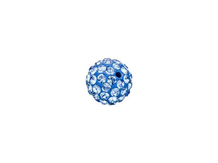 Swarovski 86001 6mm Pave Ball Bead Sapphire