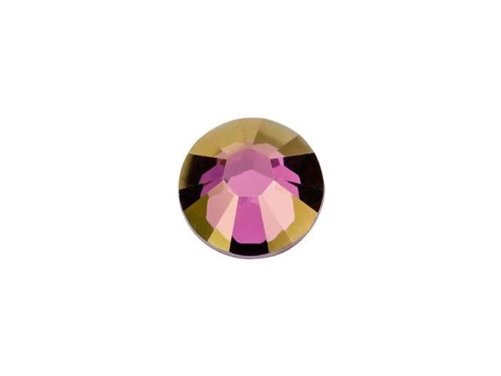 Swarovski H2038 SS20 Hotfix Xilion Rose Flatback Crystal Lilac Shadow