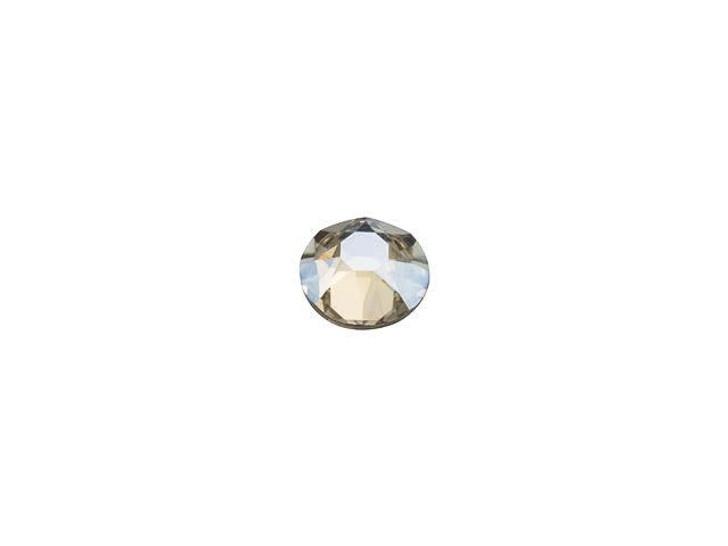 Swarovski H2078 SS12 Hotfix Xirius Rose Flatback Crystal Moonlight