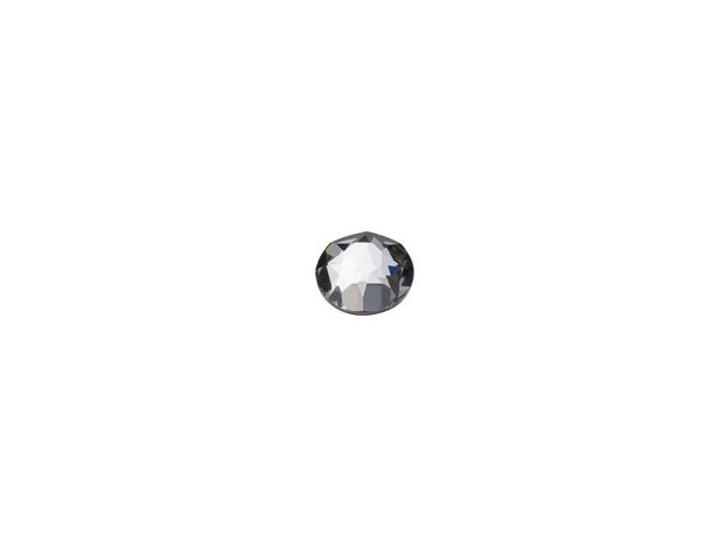 Swarovski H2078 SS12 Xirius Flatback Hotfix Crystal Silver Night