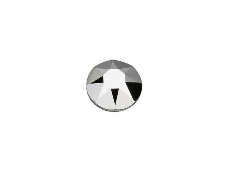 Swarovski H2078 SS16 Hotfix Xirius Rose Flatback Crystal Light Chrome