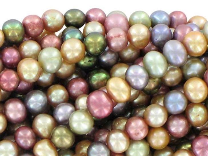 5-6mm Warm Tone Potato Pearl Mix Strand