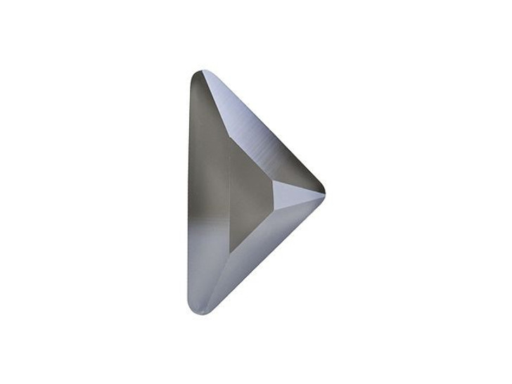 Swarovski H2740 10 x 10mm Hotfix Triangle Gamma Flatback Crystal Dark Grey Shiny LacquerPRO
