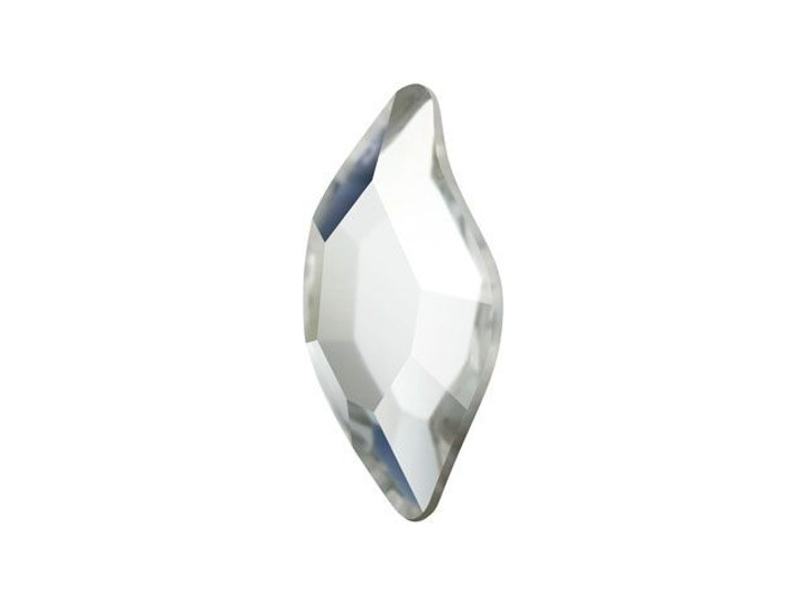 Swarovski H2797 8mm Hotfix Diamond Leaf Crystal