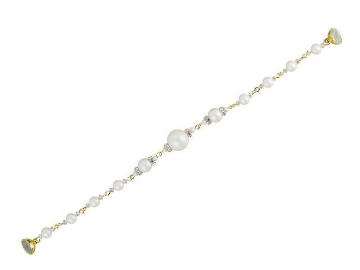 Swarovski Pearl Panache Bracelet Kit - Pearlescent White