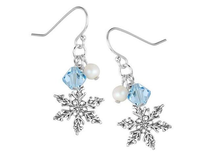 Sweet Snowflake Earrings Kit
