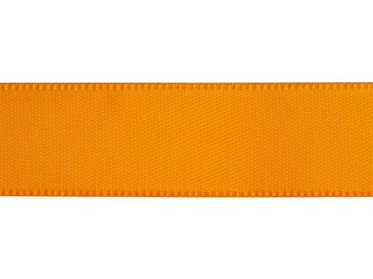 Tangerine 5/8 Inch Satin Ribbon By the Foot