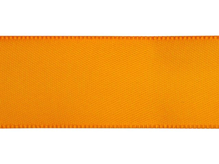 Tangerine 7/8 Inch Satin Ribbon By the Foot