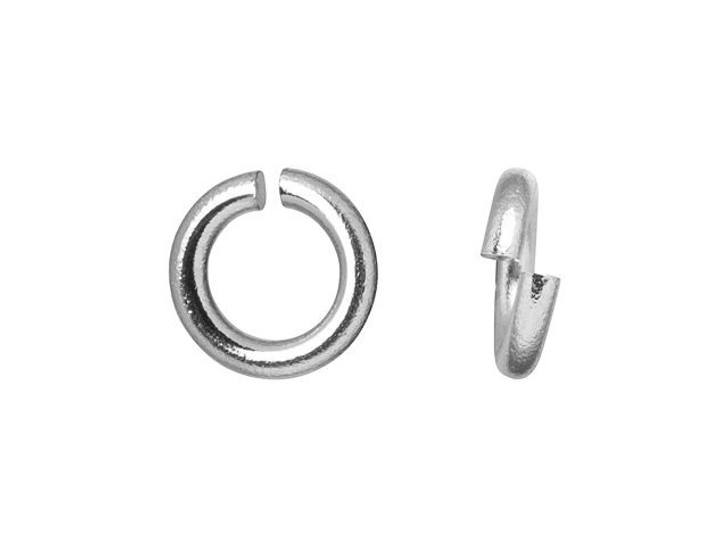 5mm Stainless Steel 18 gauge Open Jump Ring