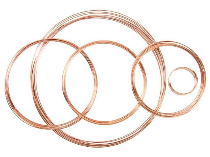 The Beadsmith Copper-Plated Steel Memory Wire Assortment